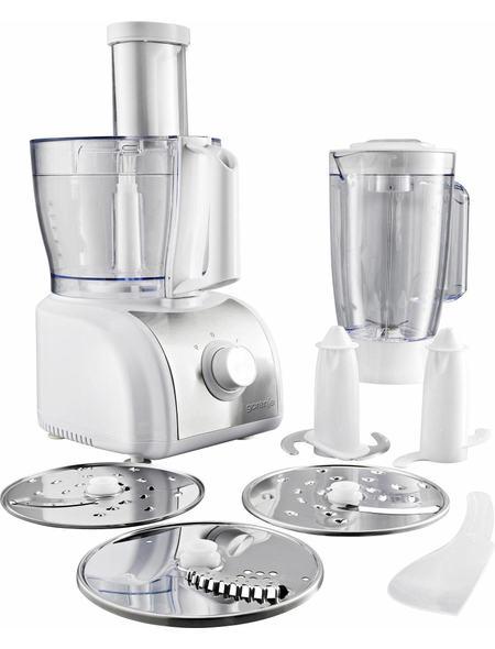 Gorenje Küchenmaschine SB800W, 1,5 Liter, 800 Watt, edelstahl-weiß ...