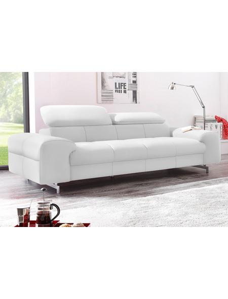 3 Sitzer Standard Kunstleder Softlux Altweiß Polstermöbel